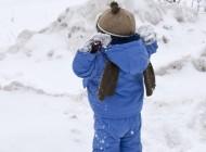 Обморожение у детей.